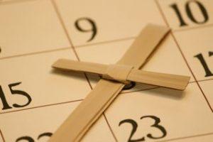 Church Calendar Image